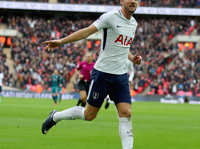 Harry Kane passes Lionel Messi in 2017